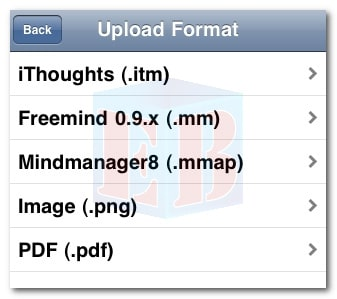 Mindmapping - Upload Format