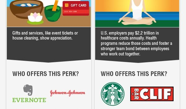 10 Incredible Workplace Perks to Attract Top Talent