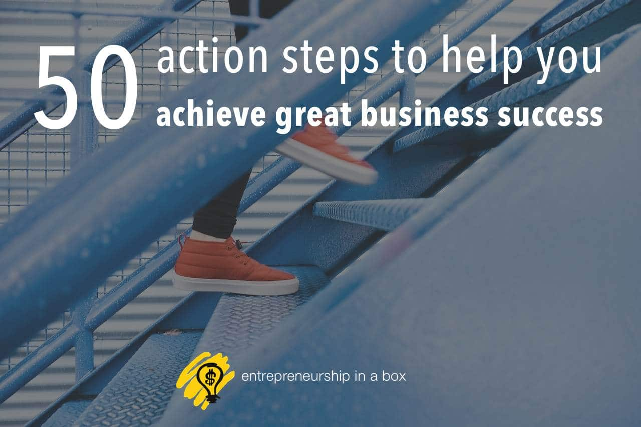 50 action steps
