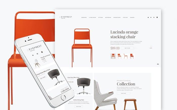 Eveprest - Furniture Store PrestaShop Theme