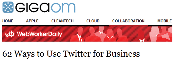 62 Ways to Use Twitter for Business