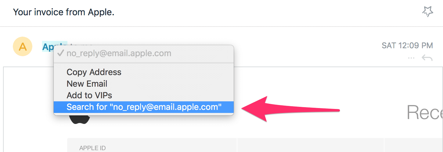 Real Email From Apple