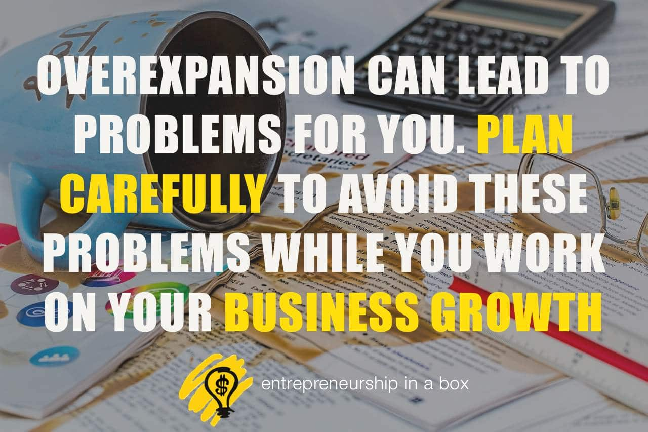 business growth problems
