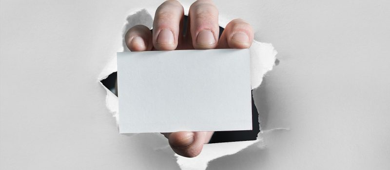 Five Ways to Create Business Cards That Stand Out