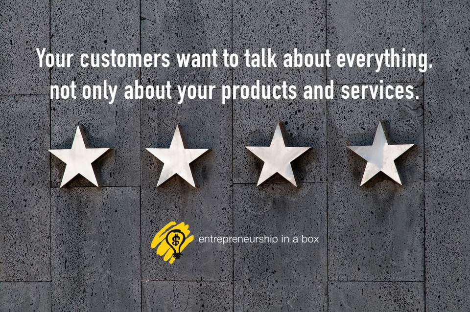 customers want to talk