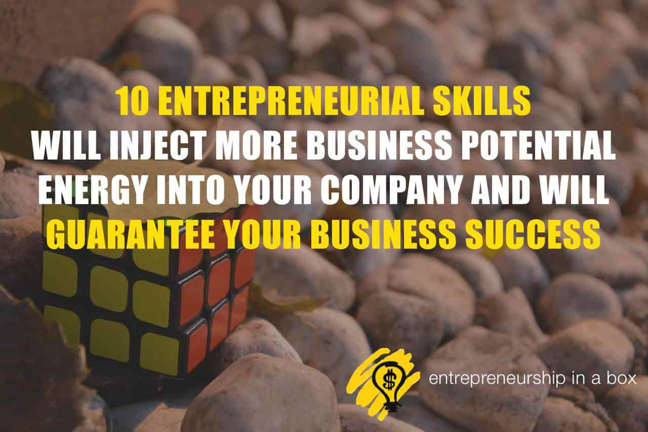 entrepreneur smart skills