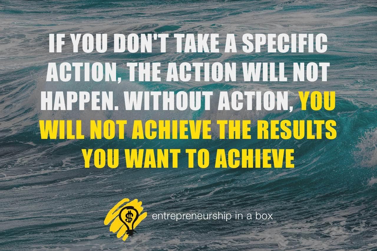 entrepreneurial action achievements