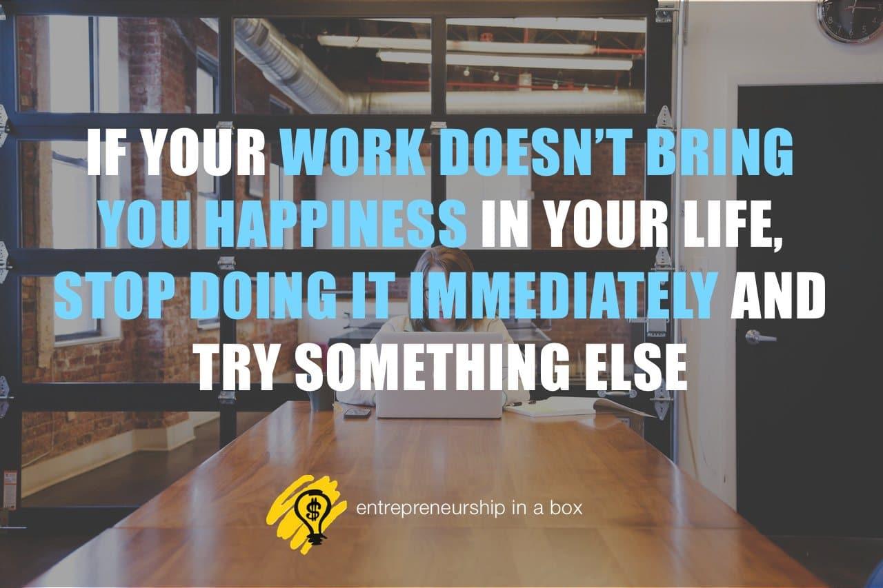 happy entrepreneurial work