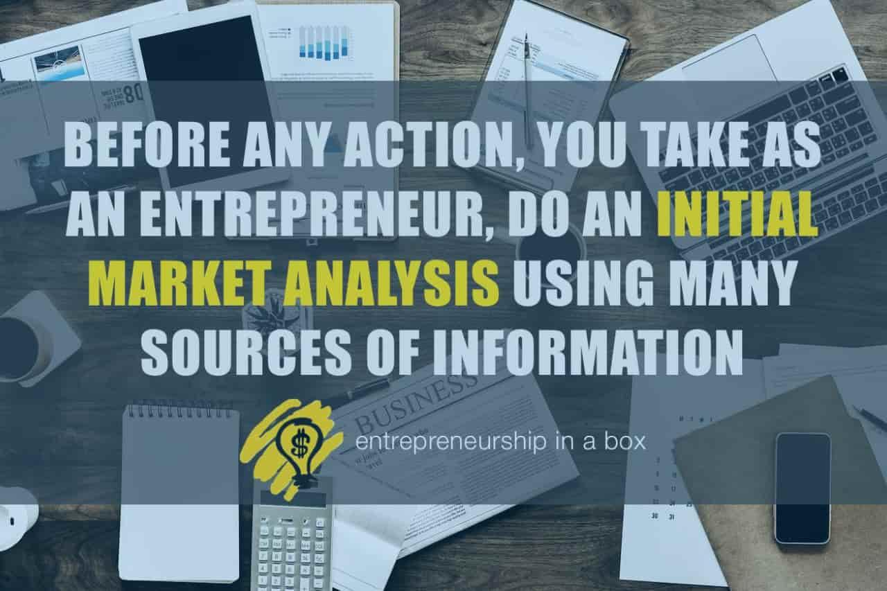 initial market analysis business