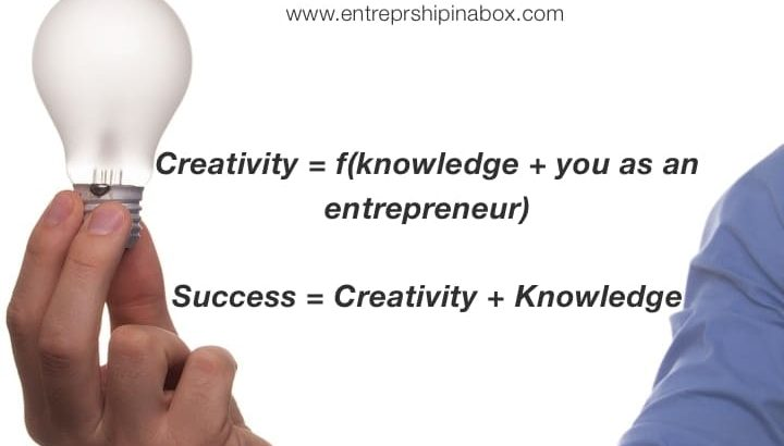 Knowledge and Creativity – Second layer of an Entrepreneurial Success